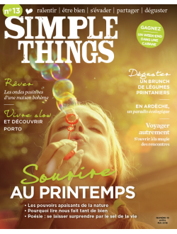 SIMPLE THINGS n°13