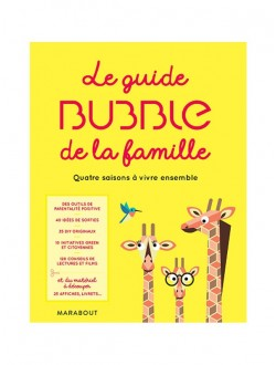 Happinez - Abonnement 1 an - 8 n° + le guide Bubble de la famille*