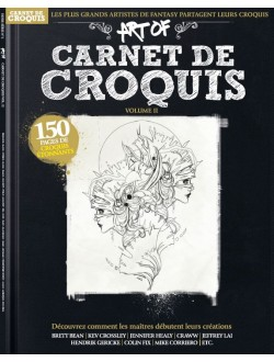 Art Of : Carnet de Croquis...