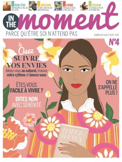 In the moment - Abonnement 1 an - 6 n° + le Nectar Exfoliant*