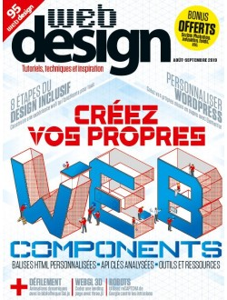 Web Design - Abonnement Essentiel - 1 an - 6 n° - Reste du monde & TOM