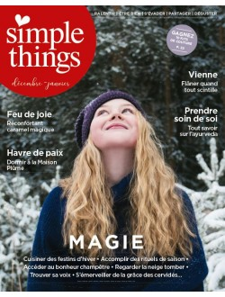 Simple Things - Abonnement Essentiel - 1an - 6 n° - Reste du monde & TOM