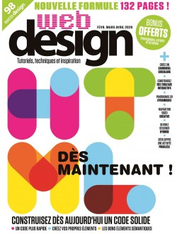 Web Design - Abonnement Essentiel - 1 an - 4 n° - Europe & DOM